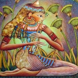 Пазл онлайн: Песня папируса