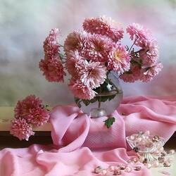 Пазл онлайн: В розовых тонах