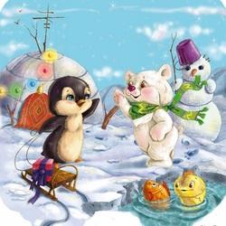 Пазл онлайн: Северный полюс
