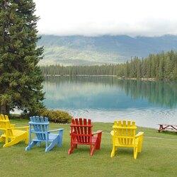 Пазл онлайн: Отдых на озере (Relax at Lake Beauvert)