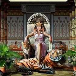 Пазл онлайн: Царица египетская