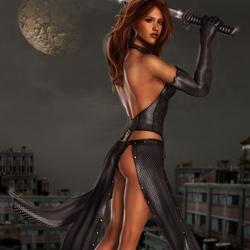 Пазл онлайн: Темная ночь