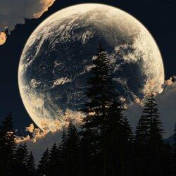 Пазл онлайн: Луна