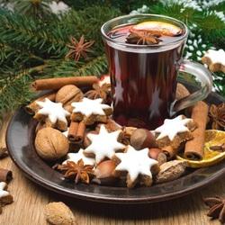 Пазл онлайн: Рождественский глинтвейн
