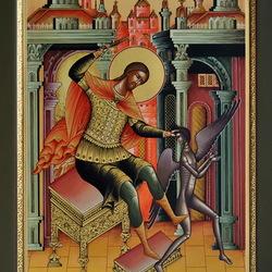 Пазл онлайн: Святой Великомученик Никита