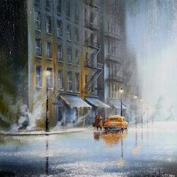 Пазл онлайн: Городской романс