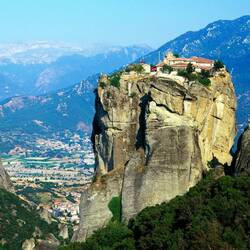 Пазл онлайн: Монастыри Метеоры