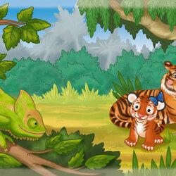 Пазл онлайн: Джунгли