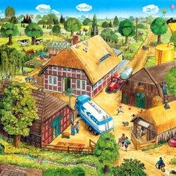 Пазл онлайн: Жизнь на ферме