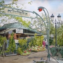 Пазл онлайн: Весна в Париже