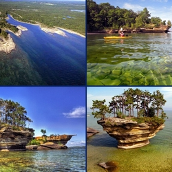 Пазл онлайн: Озеро Гурон, Канада