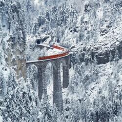 Пазл онлайн: Самая удивительная железная дорога