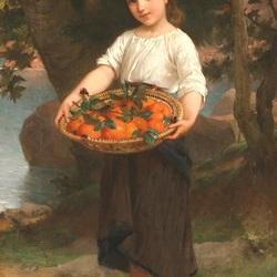 Пазл онлайн: Урожай апельсинов