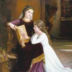 Пазл онлайн: Учение святого