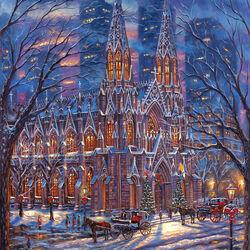 Пазл онлайн: Собор Святого Патрика в Нью-Йорке