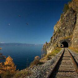 Пазл онлайн: Озеро Байкал