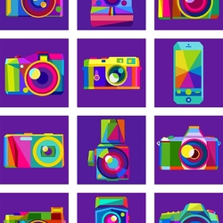 Пазл онлайн: Фотоаппараты