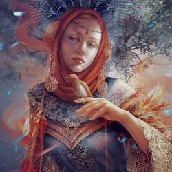 Пазл онлайн: Тайна лунной богини