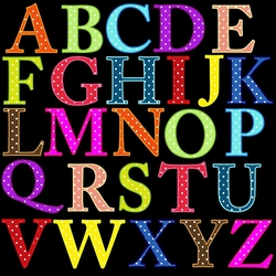 Пазл онлайн: Английский алфавит