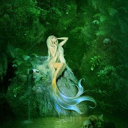 Пазл онлайн: Пещера русалки