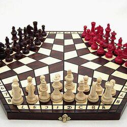 Пазл онлайн: Необычные шахматы