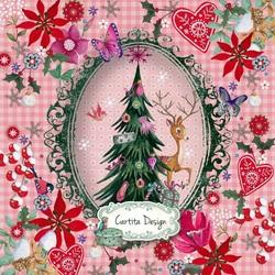 Пазл онлайн: Рождественское приглашение