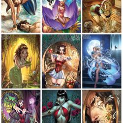 Пазл онлайн: Сказочные красотки