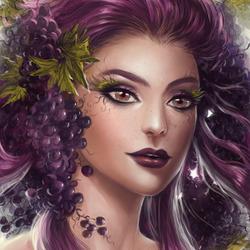 Пазл онлайн: Дух винограда