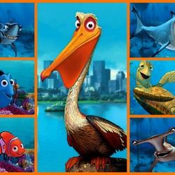 Пазл онлайн: Подводные жители