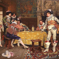 Пазл онлайн: Игра в шахматы