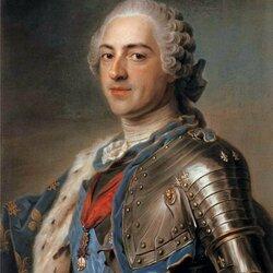 Пазл онлайн: Портрет короля Людовика XV