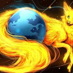 Пазл онлайн: В обьятьях лисы