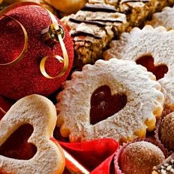 Пазл онлайн: Новогодние сладости
