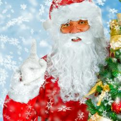 Пазл онлайн: Дед Мороз