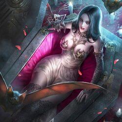 Пазл онлайн: Вампирша Шарин