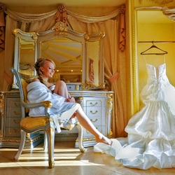 Пазл онлайн: Утро невесты