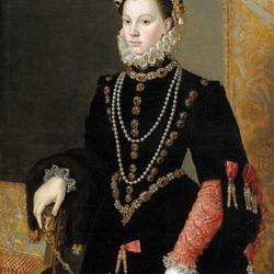 Пазл онлайн: Изабелла  Валуа королева Испании