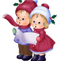 Пазл онлайн: Рождественское пение