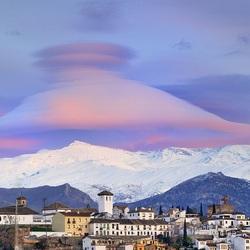 Пазл онлайн: Линзовидные облака