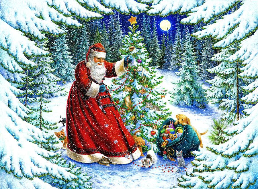 Эротическая рождественская сказка в лесу родилась