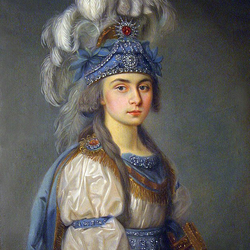 Пазл онлайн: Прасковья Ковалева -Жемчугова