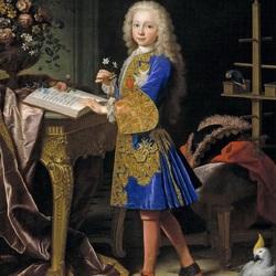 Пазл онлайн: Портрет Карлоса III в детстве