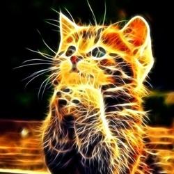 Пазл онлайн: Котеночек