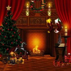 Пазл онлайн: Новогодний вечер
