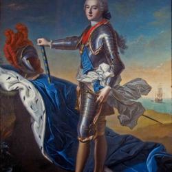 Пазл онлайн: Луи Жан Мари де Бурбон, герцог Пантьевр, как адмирал Франции