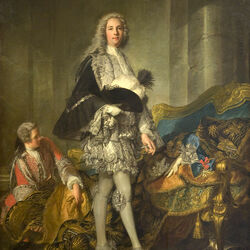 Пазл онлайн: Портрет герцога Ришелье