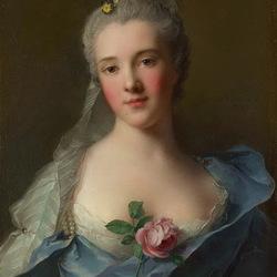 Пазл онлайн: Мадемуазель Мари-Мадлен Balletti
