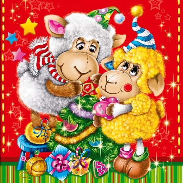 Благодарю, с новым годом 2015 открытки друзьями