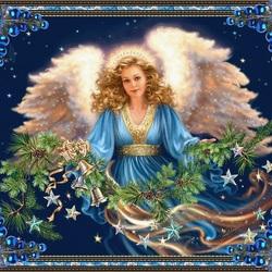 Пазл онлайн: Ангел Рождества