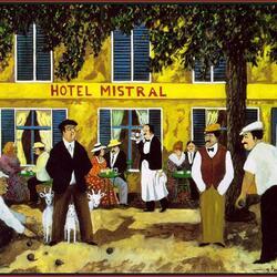 Пазл онлайн: Отель